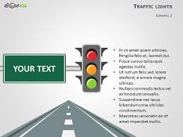 stoplight report template traffic lights powerpoint template