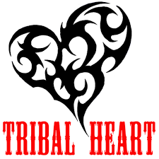 tribal heart tattoo archives how to draw step by step drawing
