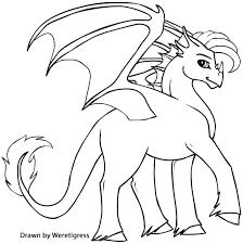 cartoon printable baby dragon coloring pages coloring tone