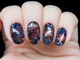 bejeweled galaxy nail art chalkboard nails nail art blog