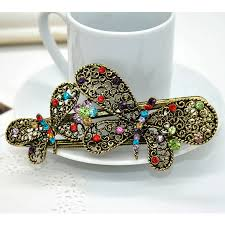 butterfly hair clip aliexpress buy 2017 fashion new butterfly hair clip retro
