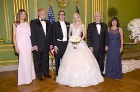 The Wedding Dress Mike Pence Officiates The Wedding Of Steve Mnuchin And Louise