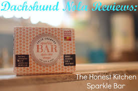 The Honest Kitchen Reviews by Dachshund Nola Dachshund Nola Reviews The Honest Kitchen Sparkle Bar