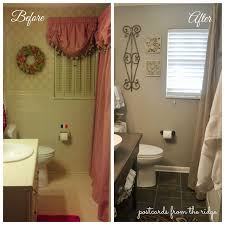 bathroom remodeling ideas before and after bath renovation reveal and details postcards from the ridge