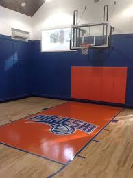 indoor basketball court at a residence in princeton nj indoor