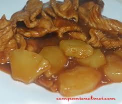 cuisiner des escalopes de poulet escalope de poulet sauce aigre douce recette companion moulinex