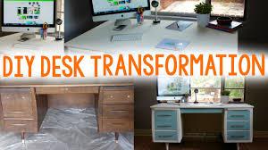 Diy Desk Design by Diy Desk Transformation A Little Craft In Your Day