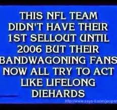 Nfl Bandwagon Memes - 22 meme internet this nfl team didn t have their 1st sellout until