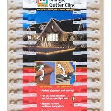 mini light shingle and gutter clip