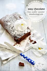 easy chocolate tea cake recipe life by the sea life by the sea
