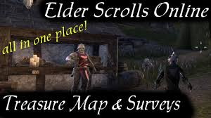 Eso Maps Eso Maps Playlist Now Complete All Treasure And Crafting Survey
