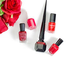 5 red nail polishes for valentine u0027s day vanityrouge