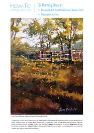 start an oil painting blocking in bold and basic peggyburkosky com