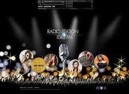 flash website template free radio station flash website template best website templates