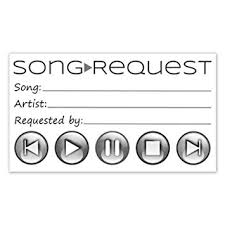 wedding song request cards song request cards for wedding dj prom party card