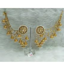 earrings online india buy naina creations bahubali devsena earrings at 33 online