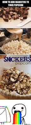 One Word Diabeetus Meme - two words snickers popcorn one word diabeetus by micosenchou2