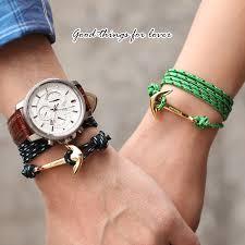 rope bracelet with anchor images Fashion anchor bracelet images jpg