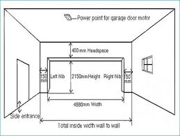 dimensions of a 2 car garage typical two car garage door dimensions wageuzi garage dimensions 2