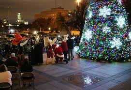 Christmas Lights In Okc Lighting The Holidays At The Oklahoma State Capitol News Ok