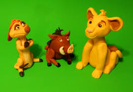 lion king cake toppers lion king inspired simba timon and pumba cake toppers