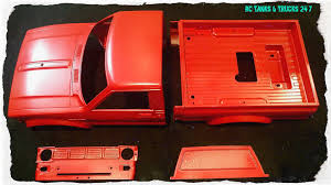 how to paint a tamiya plastic hard body part 2 primer u0026 mica red