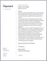 payment reminder letter u2013 free sample letters