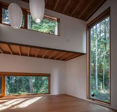 dense british columbia forest nestles artist s house by agathom