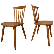 Dining Chair On Sale Mid Century Pair Of Paul Mccobb Style Maple Dining Chairs For Sale