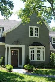 best exterior gray outdoor house paint color benjamin moore bear