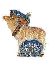 moose christmas ornaments ebay