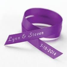 personalized wedding ribbon printed wedding ribbons for wedding favors personalized satin