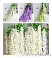 bulk silk flowers best white green purple color bulk silk flowers bush wisteria
