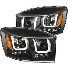 2006 dodge ram 2500 headlight bulb anzo usa dodge ram 1500 06 08 ram 2500 3500 06 09 projector