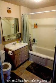 The Overwhelmed Home Renovator Bathroom by Renovating The Farmhouse Bathroom Before Pictures Little House