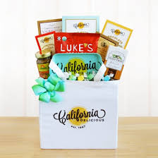 california gifts welcome to california gift tote of goodies 5552 at print ez