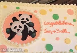 cake wrecks home nsfw baby shower cake accidentally bears all