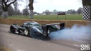 Bentley Speed 8 Burnouts And Accelerations Le Mans 2003