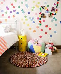 Best Polka Dot Rooms Images On Pinterest Nursery Ideas - Polka dot wall decals for kids rooms