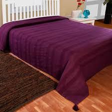 jetée de canapé jeté de lit ou de canapé rajput tissé violet 250 x 355 cm