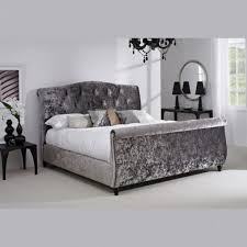 Black Tufted Bed Frame Baxton Studio Baxton Studio Stella Tufted Modern Bed In