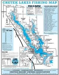 Green Lake Wisconsin Map by Lake Map U2014 Explore Chetek Wi