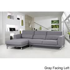 Modern Sectional Sofas Fabric Modern Sectional Sofa Set Free Shipping Today