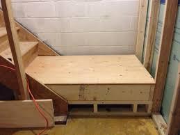 adding landing to basement stairs doityourself com community forums