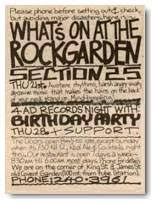 The Rock Garden Covent Garden From The Archives The Birthday Concert Chronology Gigography