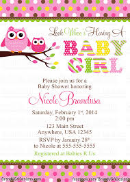 Baby Shower Invitations Card Owl Baby Shower Invitations Stephenanuno Com