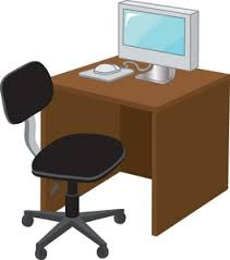 Clean Computer Desk Clean Computer Desk Clipart Clip Art Library