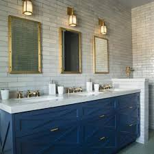 Bathroom Cabinet Modern Excellent Blue Bathroom Vanity Cabinet Beautiful Navy Intended For