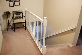 Painting A Banister Black How To Paint Stairway Railings Bower Power