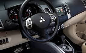 mitsubishi outlander interior 2010 mitsubishi outlander gt interior wallpaper hd car wallpapers